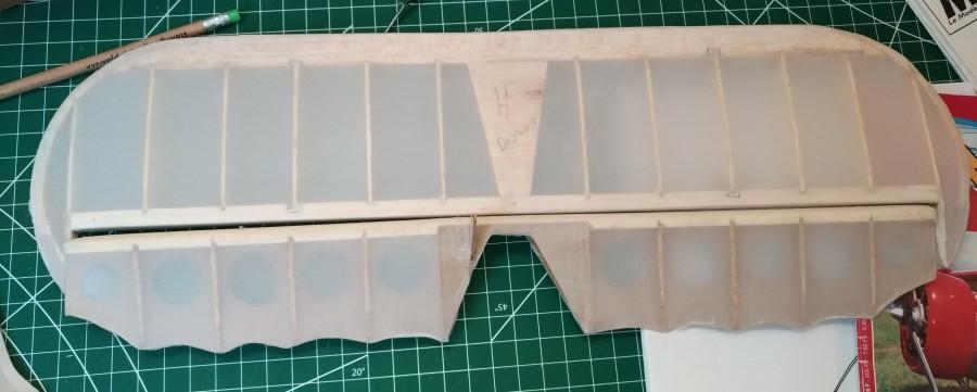 Potez 58, tailplaneconstruction