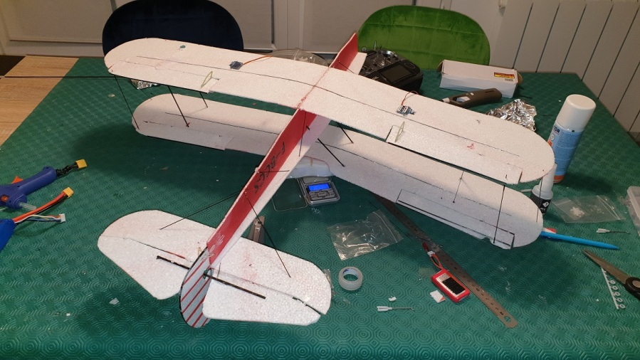 Epp Sv4 Stampe assembly almost finished ?