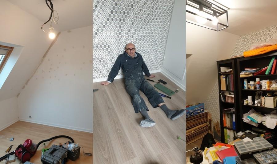 Mon nouvel atelier enpréparation