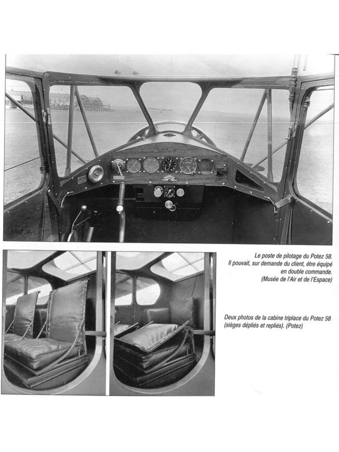 The aircraft dashboard