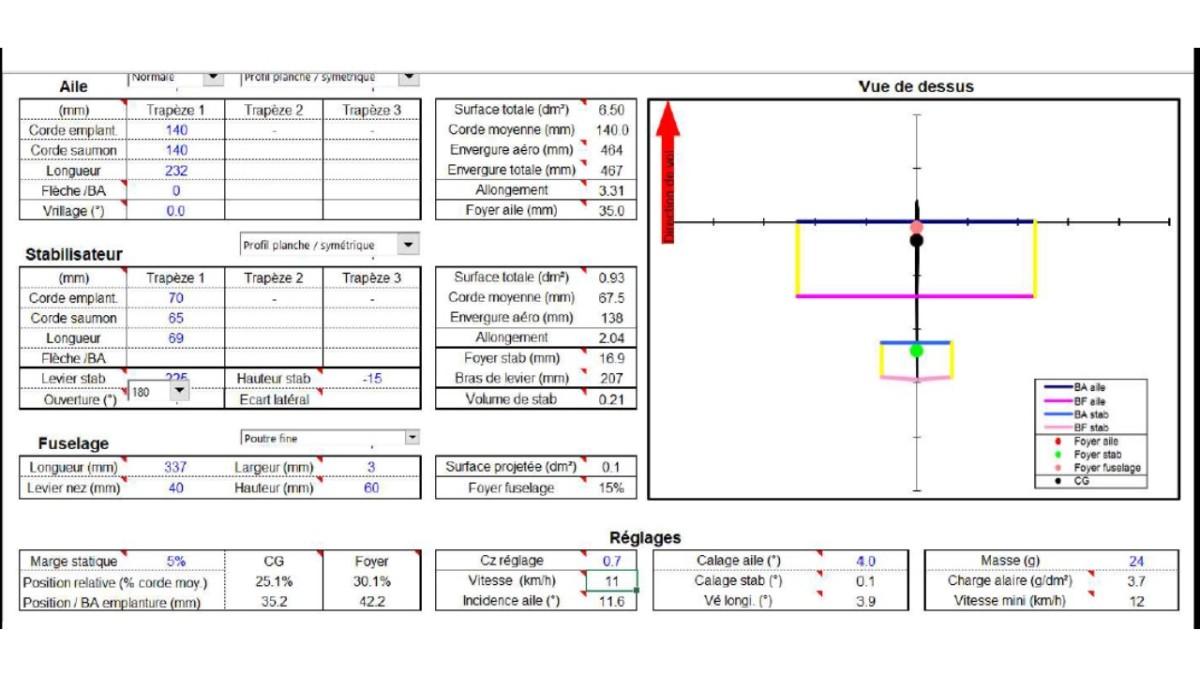 Tuto pour la construction d'un potez 58 ultra léger pour le vol intérieur ou à domicile (part1).