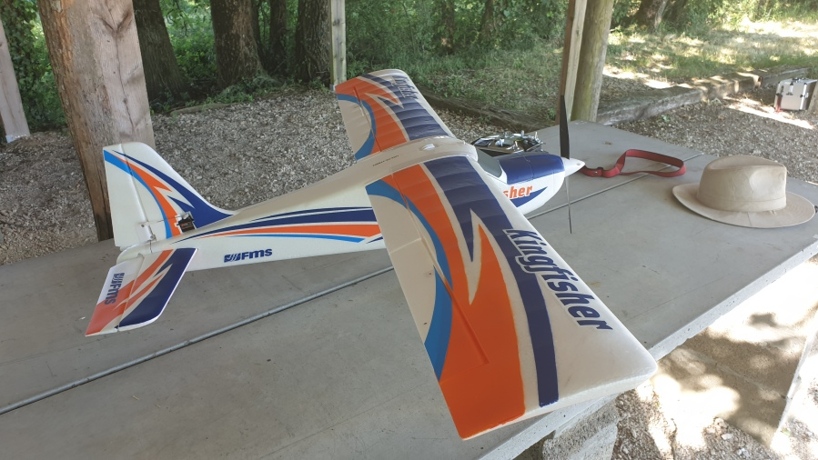 FMS Kingfisher new training plane for CACH37 aeromodel club